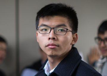 Joshua Wong, encarcelado por segunda vez en menos de un año