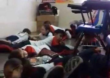 Una canción infantil para acallar los tiros en una escuela en México
