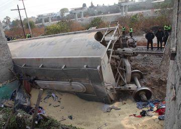 Un accidente ferroviario mata a cinco personas en el Estado de México