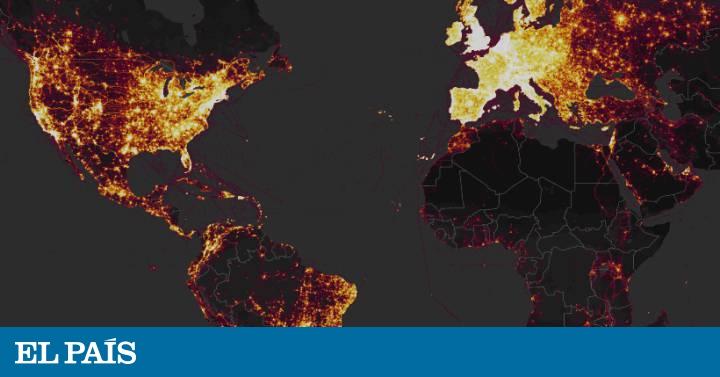 El GPS de una 'app' para hacer ejercicio revela la ubicación de bases secretas del Ejército estadounidense