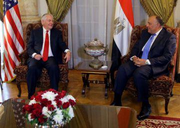 Tillerson renueva en Egipto su apoyo a Al Sisi en vísperas de las elecciones presidenciales