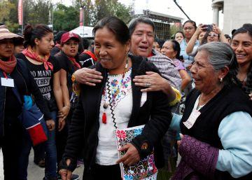 La candidata indígena Marichuy se encuentra hospitalizada tras sufrir un accidente de tráfico