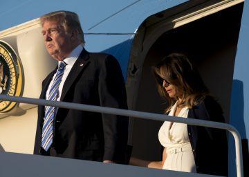 Los padres de Melania Trump usaron lo que el presidente llama ?inmigración en cadena?