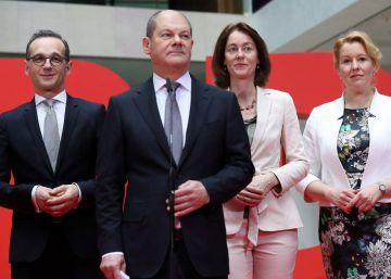 Siete mujeres y nueve hombres para el nuevo Gobierno alemán
