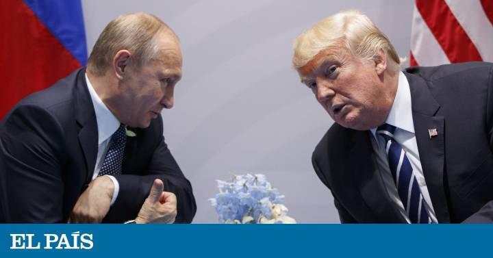 ¿Por qué Trump nunca critica a Putin?