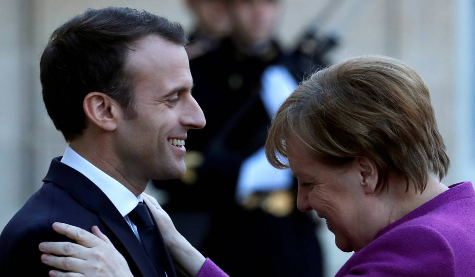 Macron busca en Berlín el apoyo necesario para acelerar las reformas en la UE