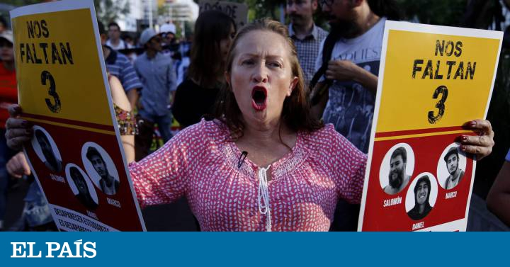 Asesinados y disueltos en ácido los tres estudiantes de cine desaparecidos  en Jalisco | Internacional | EL PAÍS
