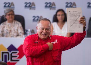 EE UU impone sanciones contra Diosdado Cabello, ?número dos? del chavismo