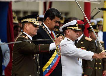 Maduro anuncia la detención de un grupo de militares por ?conspiración?