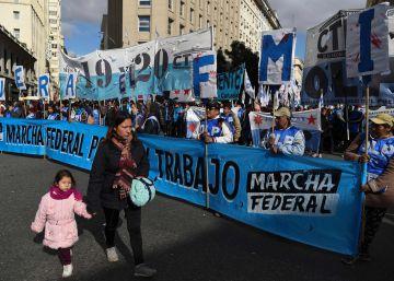 Los movimientos sociales salen a la calle contra el FMI y el ajuste de Macri
