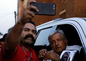 López Obrador pide calma a los empresarios mexicanos que están en su contra