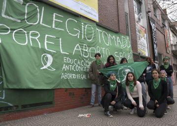 Los estudiantes argentinos, motor de la campaña por el aborto legal