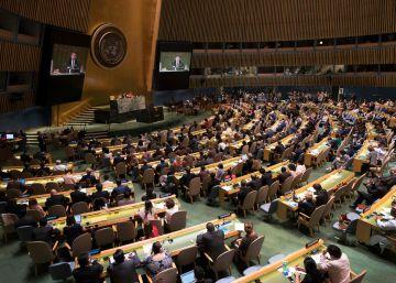 La Asamblea General de las Naciones Unidas pide protección para los palestinos