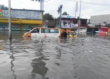 México, en alerta máxima por las primeras lluvias tropicales
