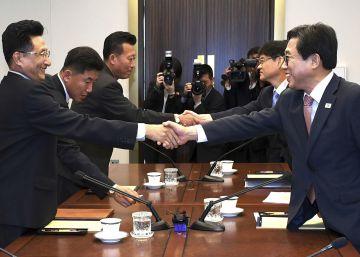 Las dos Coreas acuerdan competir juntas en varios deportes en los Juegos Asiáticos