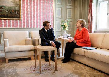 Merkel y Macron acuerdan establecer un presupuesto común para la zona euro