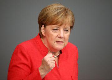 La dolorosa metamorfosis de Merkel