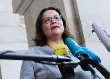 El SPD pacta con los conservadores endurecer las reglas de asilo