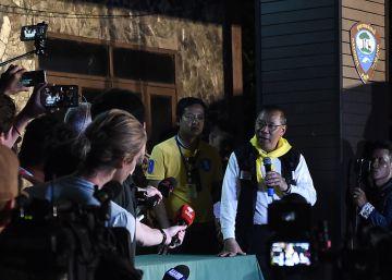 Los niños tailandeses atrapados ?aún no están listos? para intentar el buceo