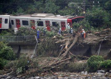 46 muertos y medio centenar de desaparecidos por inundaciones en Japón