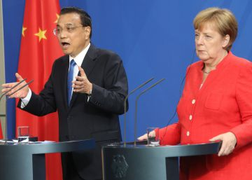 China y Alemania defienden el libre comercio ante el proteccionismo de Trump