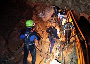 Así fue el rescate de los niños en la cueva tailandesa