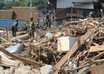 Al menos 199 muertos por las lluvias torrenciales en Japón