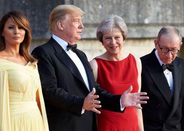 Trump llega a Reino Unido entre un maratón de protestas por su visita