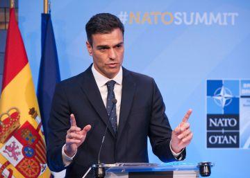 Sánchez asume el objetivo de aumentar el gasto militar al 2% del PIB