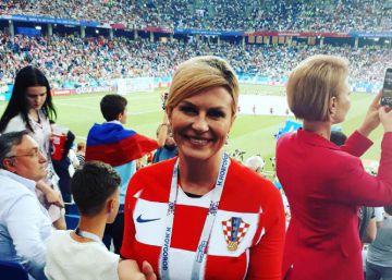 La hincha número uno de Croacia: su presidenta