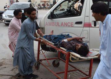Al menos 128 muertos en un atentado en un mitin en Pakistán, uno de ellos candidato a las elecciones