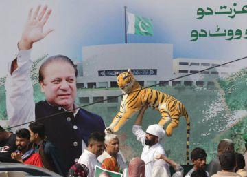 Detenido al regresar a Pakistán el ex primer ministro Nawaz Sharif