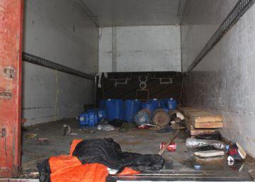 Hallados ocho migrantes muertos y 90 en estado crítico en un camión en Libia