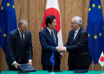La UE firma con Japón su acuerdo comercial más ambicioso