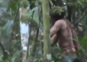 El hombre más solo del mundo, filmado en un vídeo