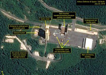 Corea del Norte inicia el desmantelamiento de su mayor base de desarrollo de misiles