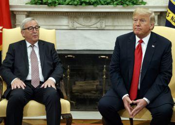 Estados Unidos y la Unión Europea frenan la guerra comercial