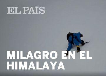 El emocionante rescate gracias a un dron de un escalador dado por muerto en el Himalaya