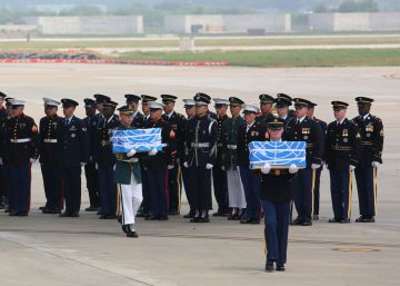 Corea del Norte devuelve a EE UU parte de los restos de los soldados que murieron en la Guerra de Corea