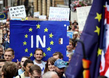 La mitad de los británicos apoyaría un segundo referéndum del Brexit
