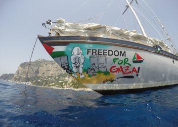Israel intercepta un segundo barco de la flotilla con ayuda humanitaria a Gaza