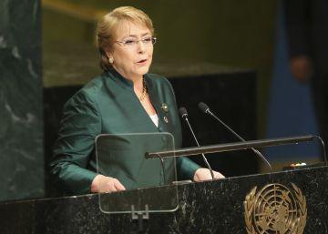 Bachelet regresa a la ONU como alta comisionada para los derechos humanos