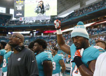 Trump ataca a los jugadores de la NFL porque vuelven a protestar durante el himno nacional