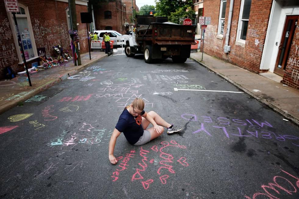 Las protestas marcan el primer aniversario de Charlottesville