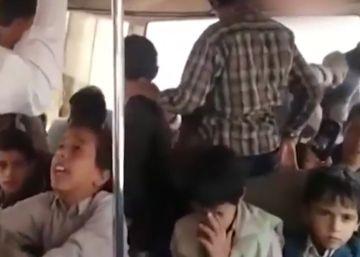 Un vídeo de uno de los niños muertos muestra el momento anterior al ataque en Yemen