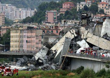 """El viaducto Morandi, una """"obra maestra"""" que resultó letal"""