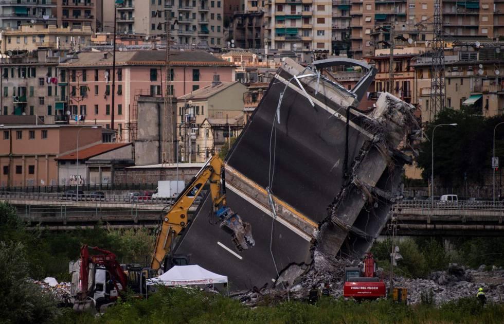 """Los vecinos evacuados de Génova: """"Se sabía que tarde o temprano acabaría así"""""""