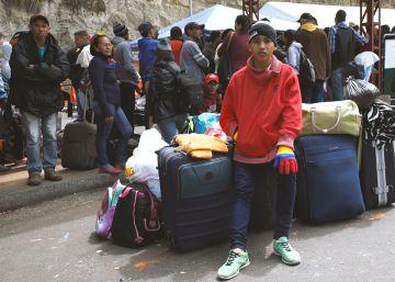 El éxodo venezolano atraviesa los Andes