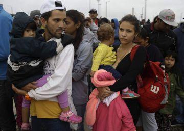 La migración venezolana desborda a los Gobiernos de América Latina