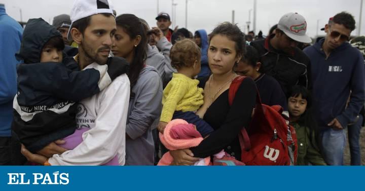 La migración venezolana desborda a los Gobiernos de América Latina ... e76d2af547c96